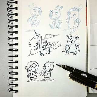 It's lunchtime, it's time to sketch something #ink #draw #drawing #doodle #sketch #vty_2019 #creativepeople #comics #comix #illustrations #illustration #artistoninstagram #pen #pencildrawing #photooftheday #photography #pencilsketch