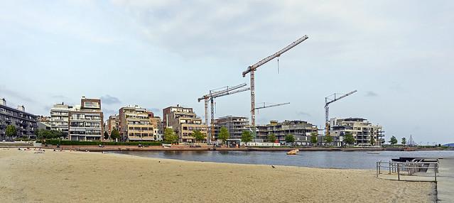 Town beach Kristiansand