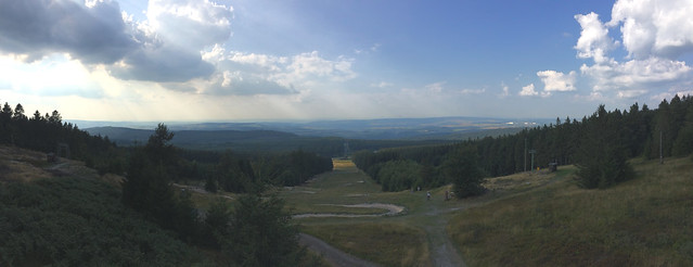 Panorama auf dem Erbeskopf