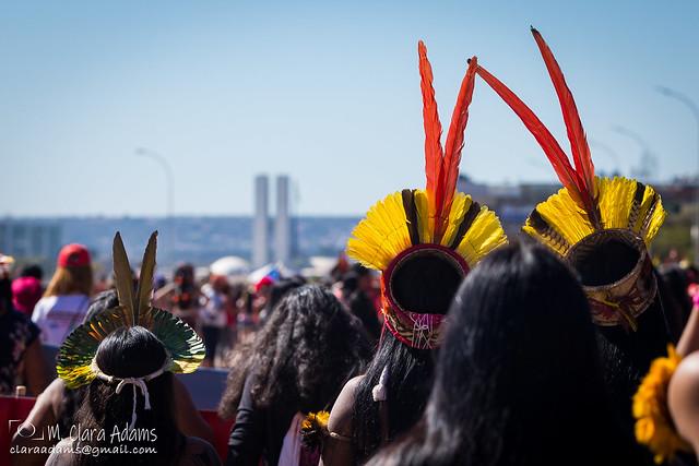 Marcha das Margaridas 2019 | Foto: Maria Clara Adams