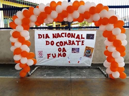 29-08-19-Prefeitura promove gincana para mostrar às crianças os males do cigarro.