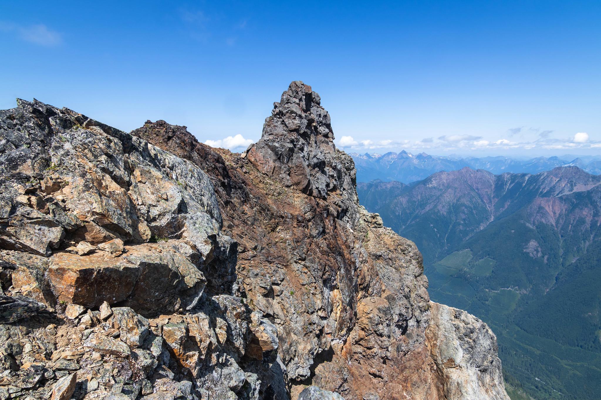 American Border Peak summit tower
