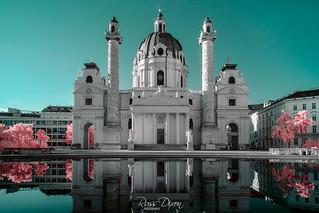 Karlskirche Infrared