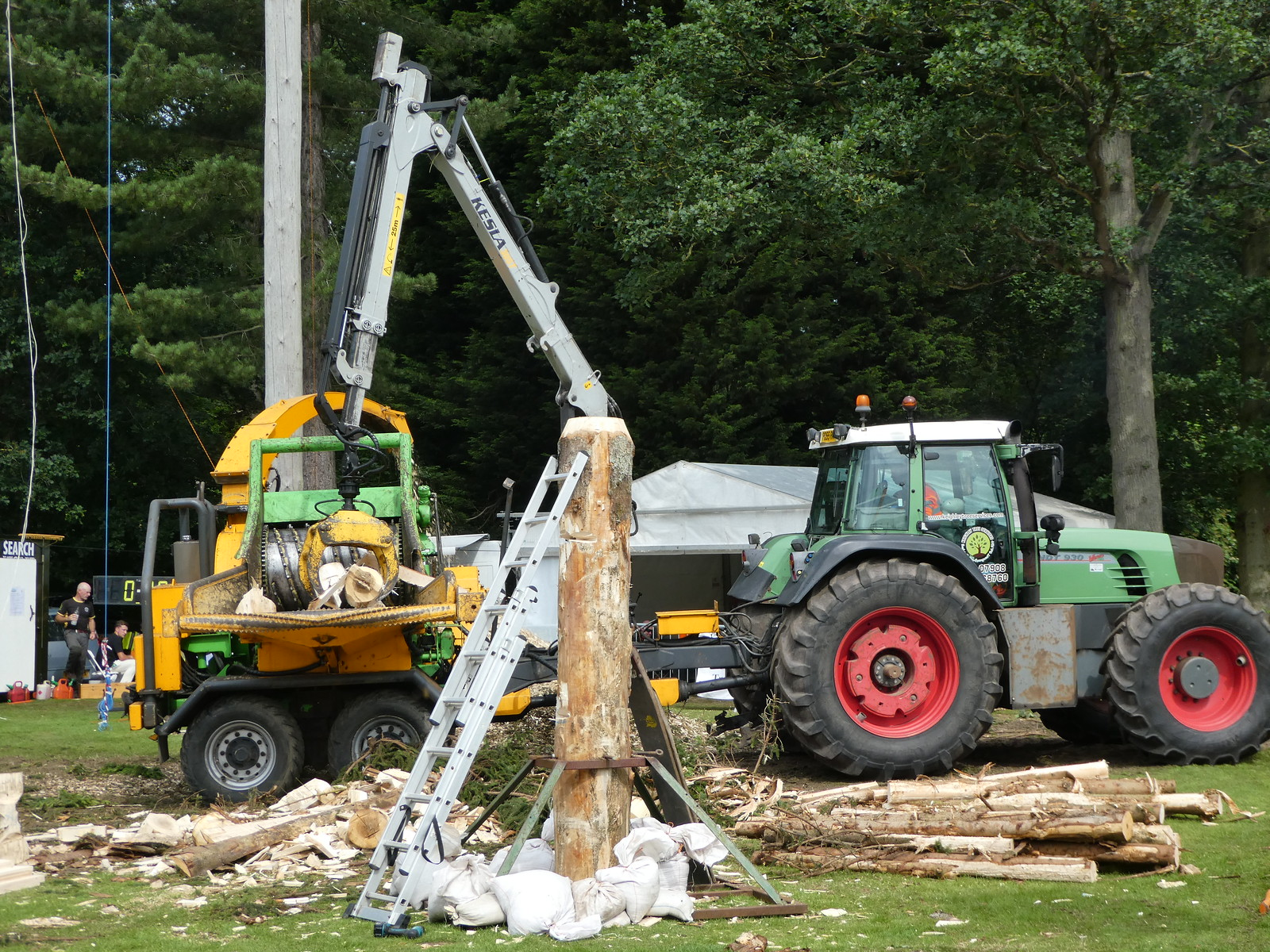 Forestry demonstration, Great Yorkshire Show, Harrogate