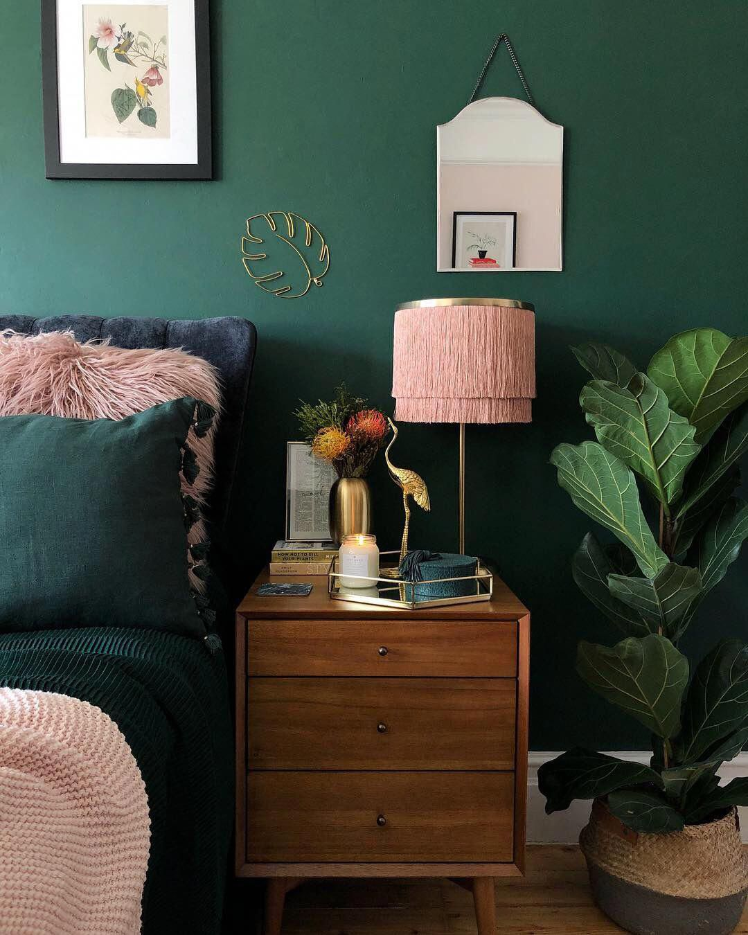 Pink and Green Bedroom Inspiration | 20 Photos That Will Prove Decorating with Pink and Green is the Next Big Thing