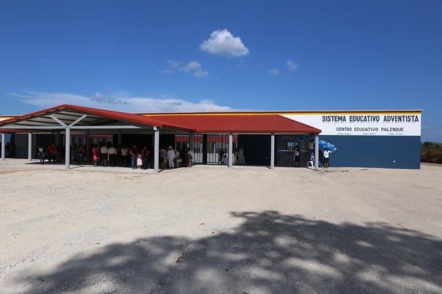 Inauguración Centro Educativo Palenque
