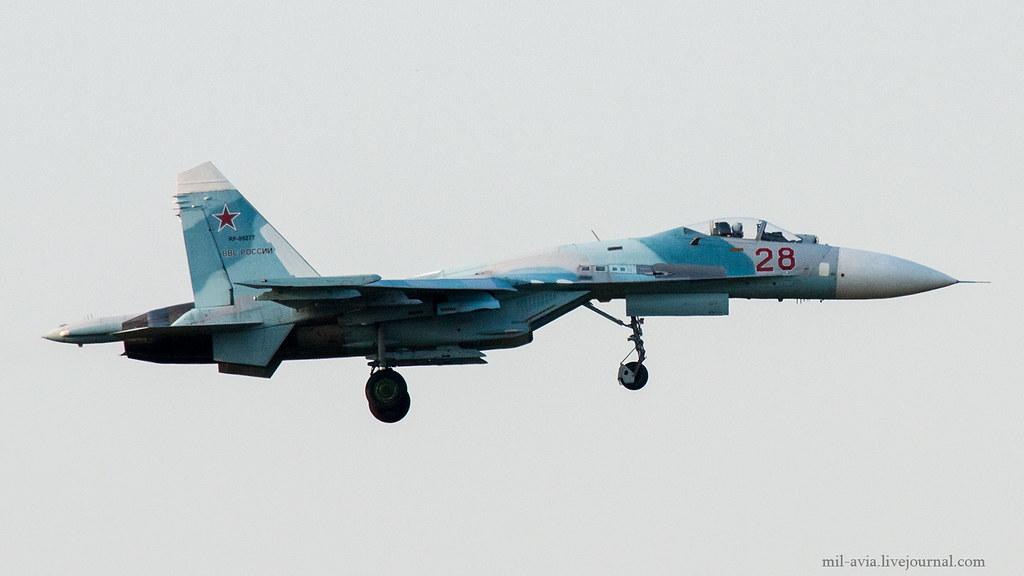 Su-27P 28 RED