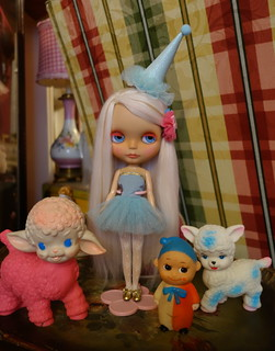 A little dolly and a few friends...