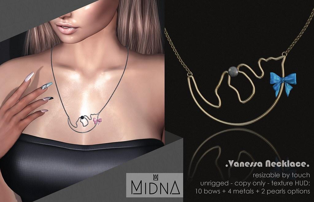 Midna – Vanessa Necklace
