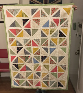Two Triangle Quilt