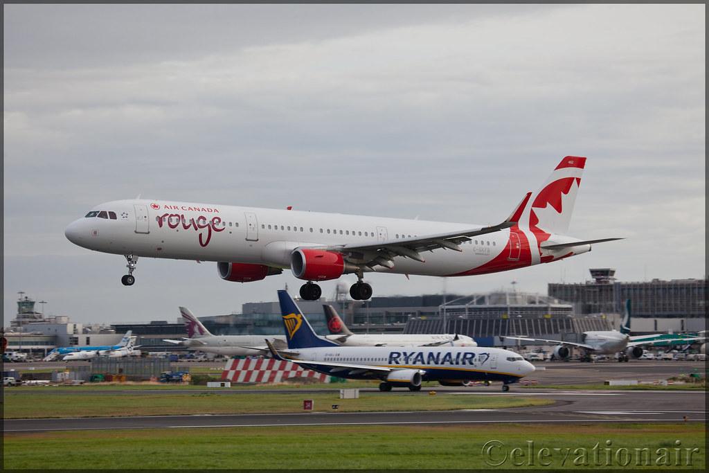 C-GKFB Airbus A321-211(W) Air Canada Rouge