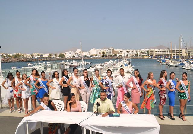 Presentación Miss World Lanzarote 2019