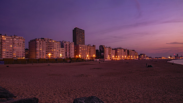 The buildings in Ostend