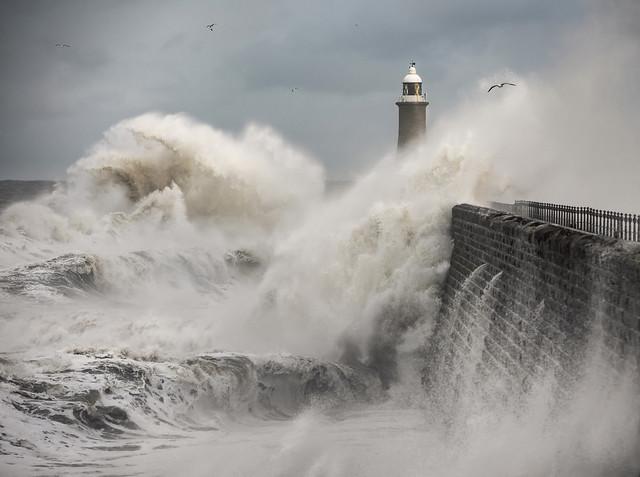 Tynemouth Storm