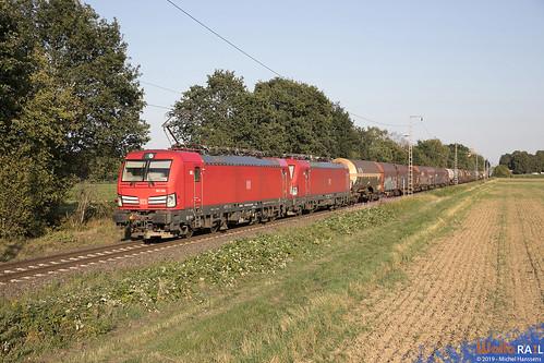 193 345 + 193 317 . DB Cargo . Dülken . 24.08.19.