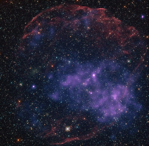 SNR J0534.2-7033 HST+CXO