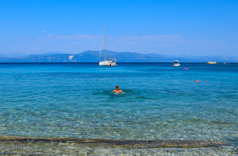Marmari, Paxos, Greece