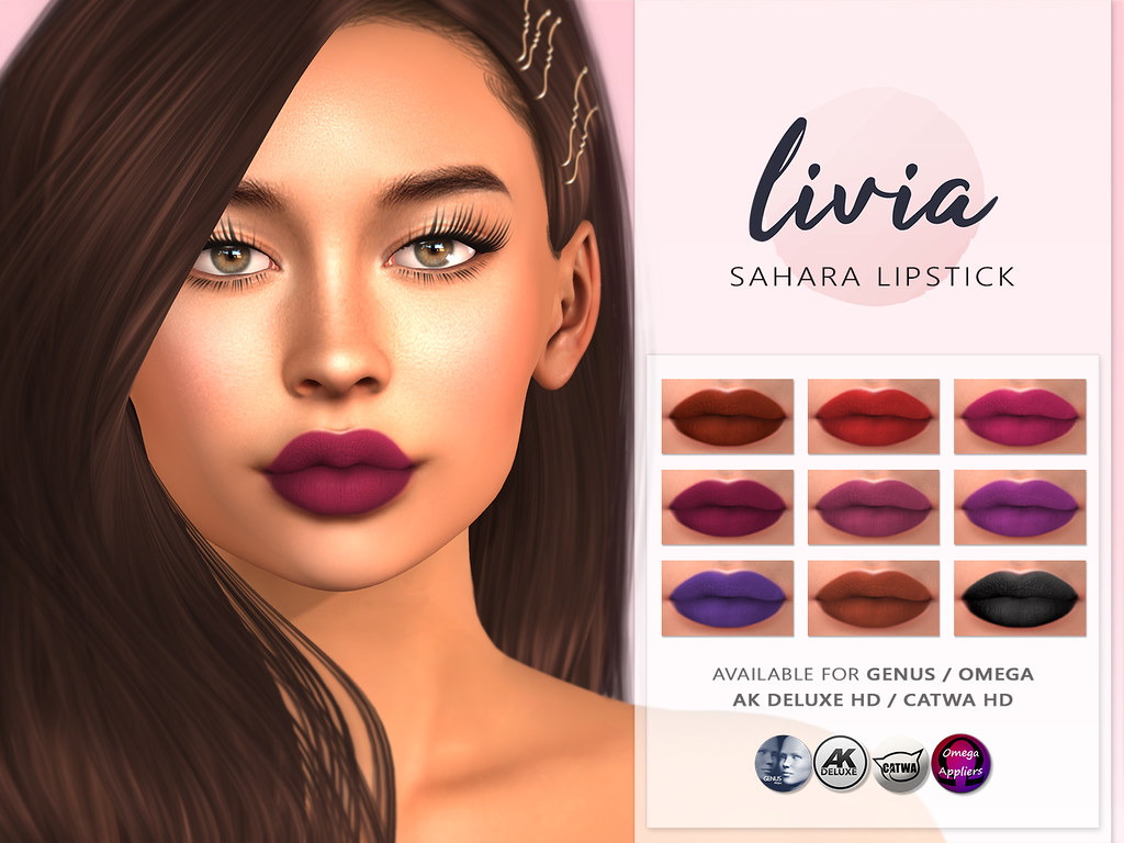 LIVIA // Sahara Lipstick (The Makeover Room)