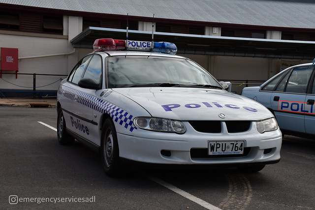 South Australia Police | Holden VX Commodore