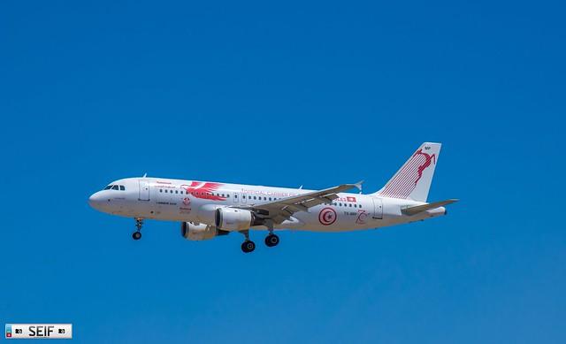TS-IMP Airbus A320-200  Tunis Tunisia 2019