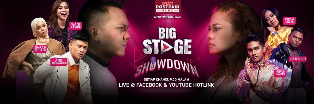 Pelancaran Pelan Terbaharu  Hotlink Postpaid Flex & Big Stage Showdown
