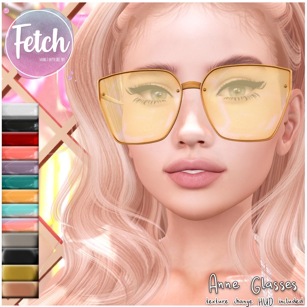 [Fetch] Anne Glasses @ Fifty Linden Friday!