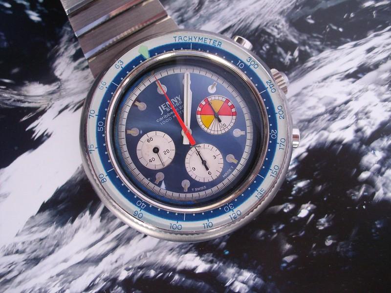 Ma dernière acquisition  peu commune, la jenny carribean 2000 chrono de 1970 48645145873_07057a46e6_c