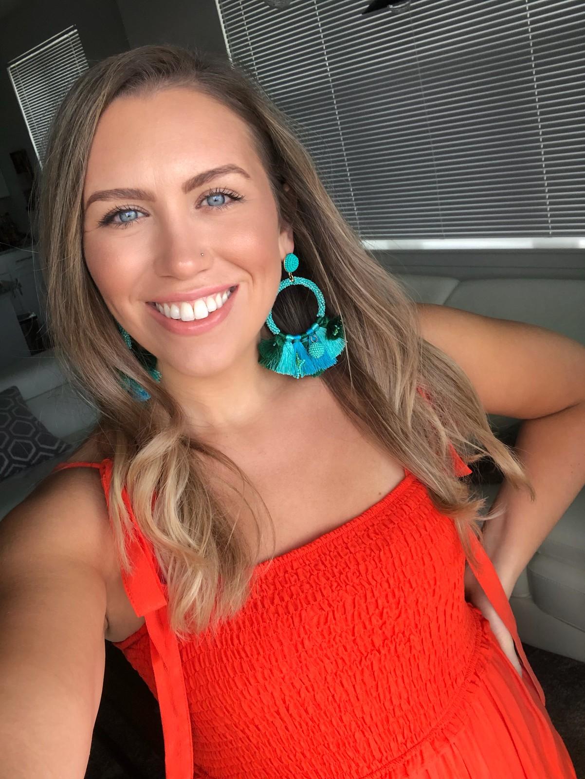 Everyday Makeup Jackie Giardina | Amazon Fan Tassel Earrings Beaded Fringe Earrings Hoop Tassel Earrings Fringe For Women Fashion | August 2019 Round Up