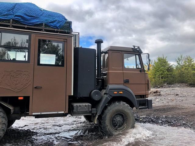 Camión 6x6 con el que realizamos la Expedición Kamchatka 2019