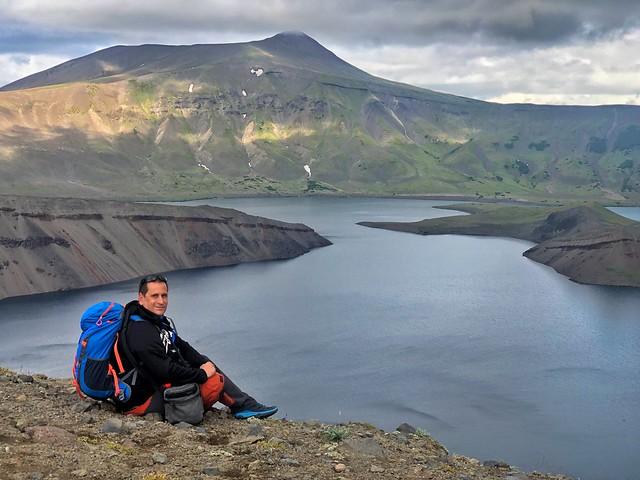 Sele en el volcán Ksudach (Kamchatka)
