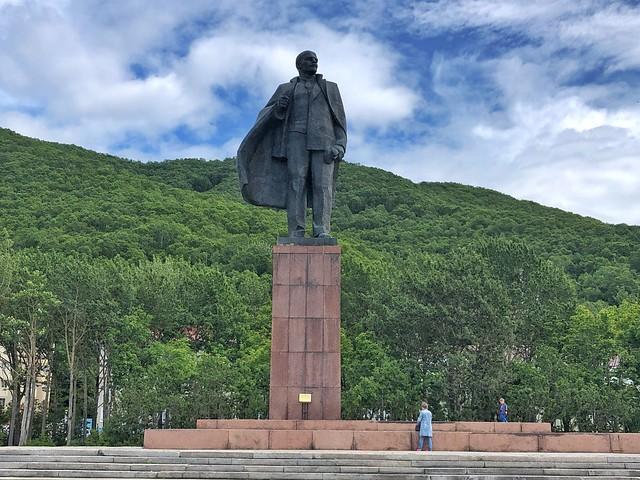 Estatua de Lenin en Petropavlovsk (Kamchatka)