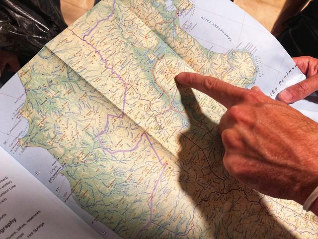 Revistando mapa de Kamchatka