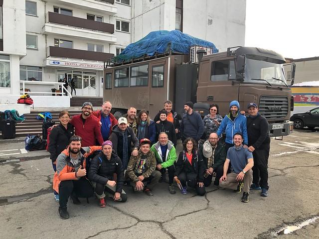 Equipo de la Expedición Kamchatka 2019