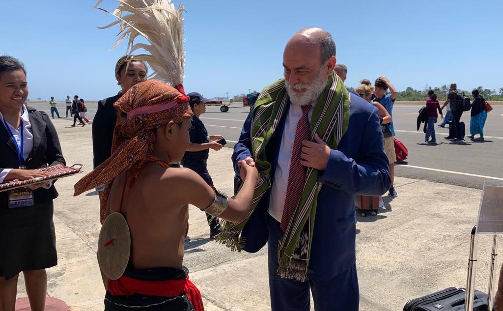 Viceministro Rubén Darío Molina visita Timor-Leste para estrechar lazos de cooperación bilateral