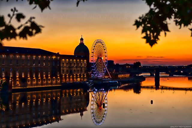 Toulouse - Sunset - Pont saint-Pierre - 3D0A3464