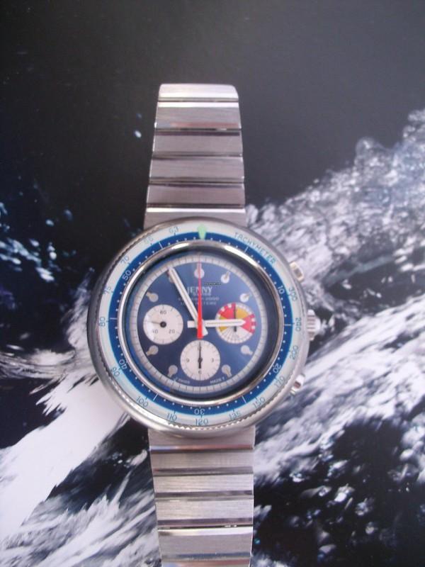 Ma dernière acquisition  peu commune, la jenny carribean 2000 chrono de 1970 48645639172_065ba1a060_c