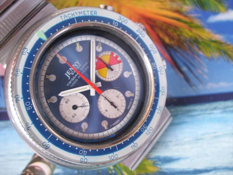 Ma dernière acquisition  peu commune, la jenny carribean 2000 chrono de 1970 48645639237_c90036979c_c