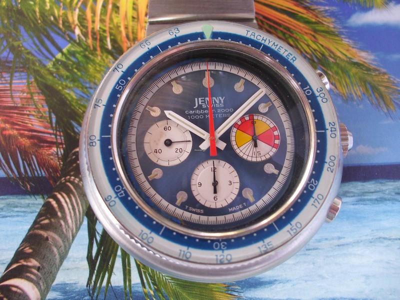Ma dernière acquisition  peu commune, la jenny carribean 2000 chrono de 1970 48645639287_cf330d34d0_c
