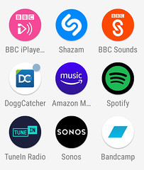 Did BBC sounds copy their logo from Shazam?
