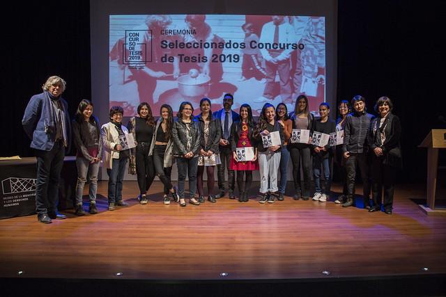 Premiación Concurso de Tesis 2019
