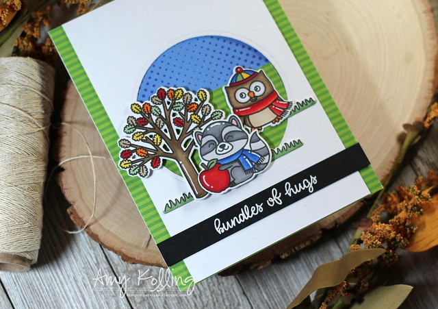 Sunny Studio Stamps: Woodsy Autumn Everyday Cards by Amy Kolling