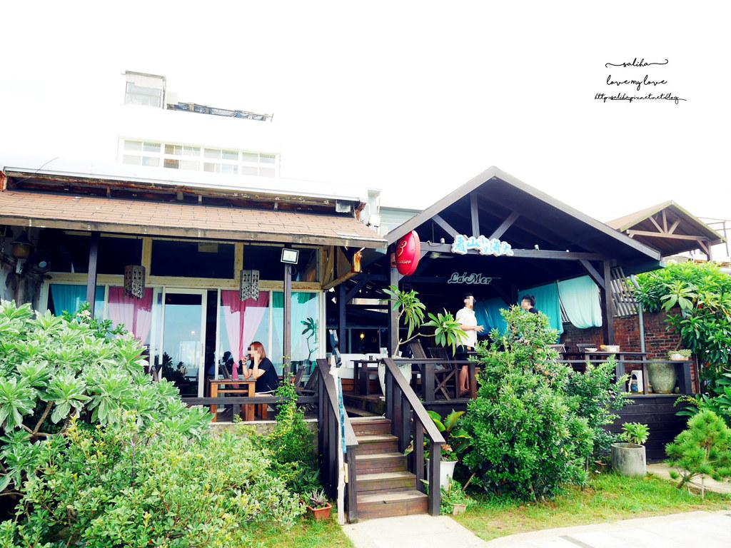 新北三芝一日遊海邊淺水灣餐廳分享推薦海景咖啡 (5)