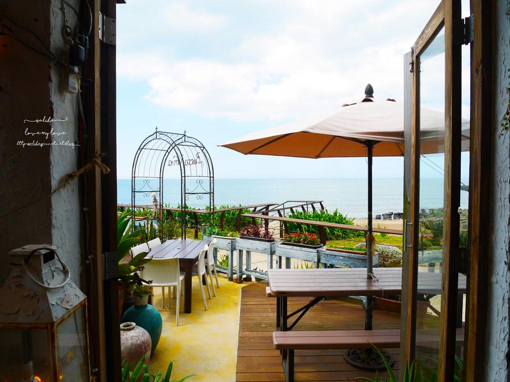 新北三芝一日遊海邊淺水灣餐廳分享推薦海景咖啡 (1)