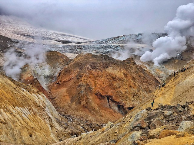 Cráter del Mutnovsky (Kamchatka)
