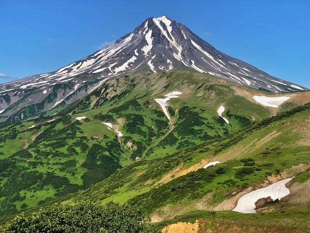 Volcán Vilyuchinsky en Kamchatka