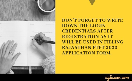 Rajasthan PTET 2020 Application Form