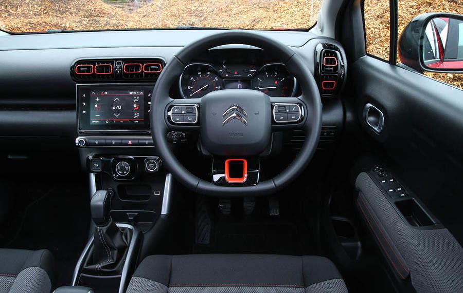 citroen-c3-aircross-2018-review-drivers-seat
