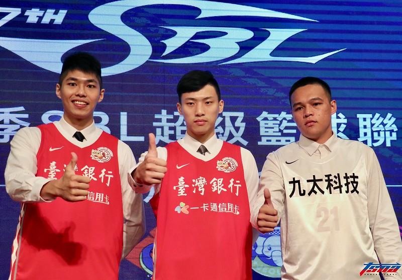 第17季SBL選秀僅3位選手獲得球團青睞。(實習攝影林益民/攝)
