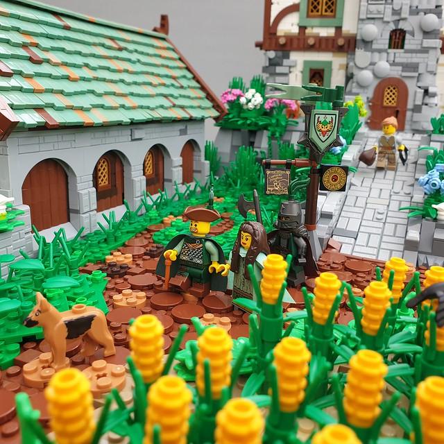 LEGO Castle medieval farm