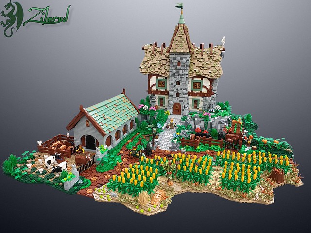 LEGO Castle Manor House